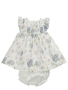 mamas-papas-baby-girls-floral-dress-and-briefs-set