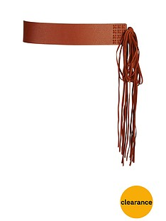 fringed-waist-belt