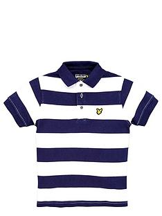 lyle-scott-ss-stripe-polo-deep-indigo