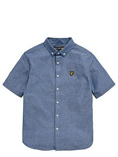 lyle-scott-boys-chambray-shirt