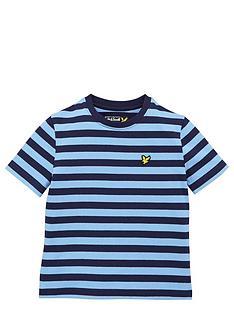 lyle-scott-ss-fine-stripe-tee-deep-indigo