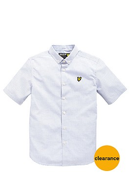 lyle-scott-boys-short-sleeve-stripe-shirt