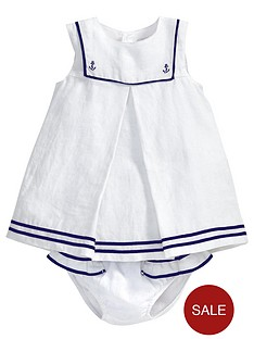 mamas-papas-baby-girls-linen-sailor-dress-and-briefs-set