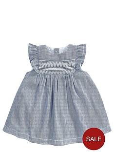 mamas-papas-baby-girls-stripe-smock-dress