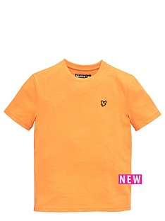 lyle-scott-ss-classic-tee-sunset-orange