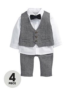 mamas-papas-4pce-tweed-set