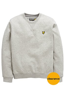 lyle-scott-boys-crew-neck-sweaternbsp