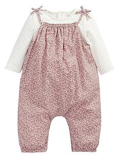 mamas-papas-2pce-dungaree-amp-body-set