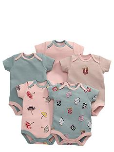 mamas-papas-5pk-rainy-day-bodysuits