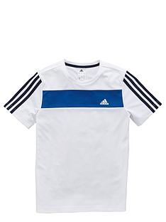 adidas-adidas-older-boys-poly-tee