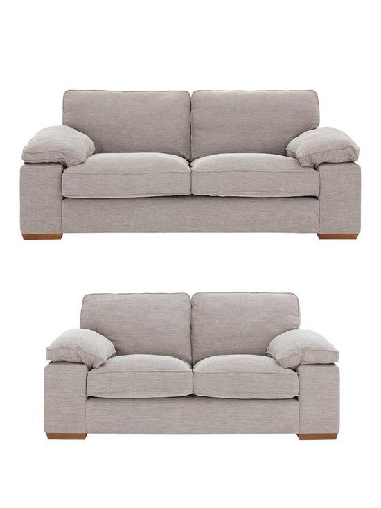 a539dcb1b9 Aylesbury 3 Seater + 2 Seater Fabric Sofa Set (Buy and SAVE!) | very.co.uk