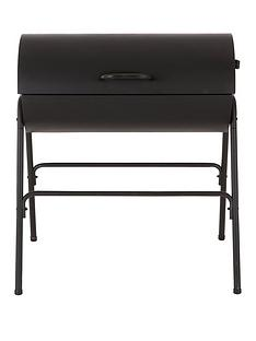 oil-drum-bbq-with-cover-charcoal