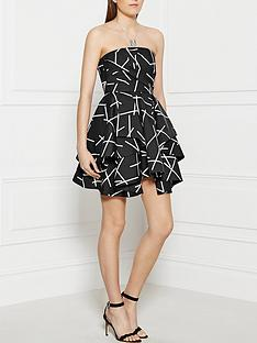 cmeo-collective-shaken-up-strapless-dress-black
