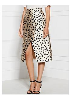 cmeo-collective-one-life-leopard-print-skirt-beige