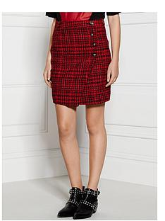 supertrash-she-checked-wrap-skirt-red