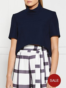 finders-keepers-the-alchemist-sleeve-top-navy