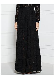 supertrash-shadow-daisy-lace-long-skirt-black