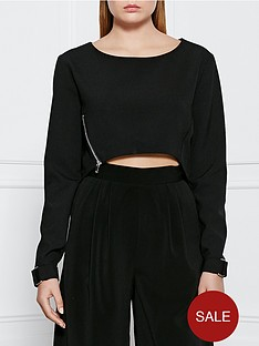supertrash-tarab-cropped-top-black