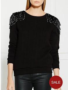 supertrash-tasmi-embellished-shoulder-jumper-black