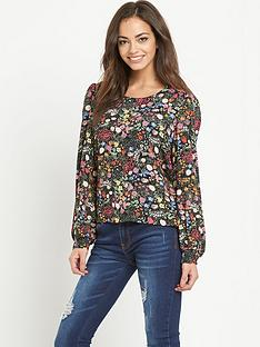 glamorous-glamorous-ditsy-floral-blouse