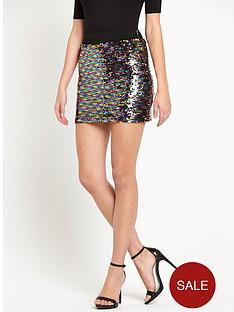 glamorous-glamorous-sequin-mini-skirt