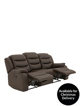 rothburynbspluxury-faux-leather-3-seaternbspmanual-recliner-sofa