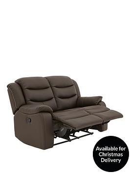 rothburynbspluxury-faux-leather-2-seaternbspmanual-recliner-sofa