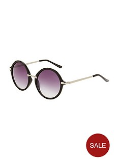 round-frame-sunglasses-with-metal-arm-detail-black