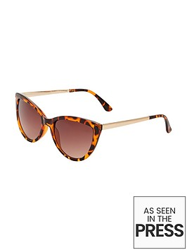 catseye-sunglasses-with-gold-metal-arm