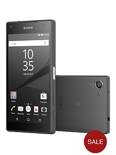 sony-xperia-z5-compact-32gbnbspwith-free-sony-sbh60-headphonesnbsp--graphite-black