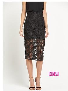river-island-lurex-lace-pencil-skirt