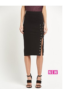 river-island-lace-up-pencil-skirt