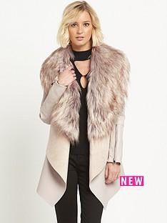 river-island-faux-fur-collar-fallaway-jacket