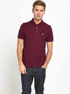 lyle-scott-pique-mens-polo-shirt