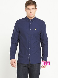 lyle-scott-long-sleevenbspoxford-shirt