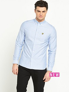 lyle-scott-long-sleeved-oxford-shirt