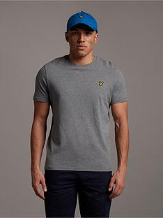 lyle-scott-mens-t-shirt-mid-grey-marl