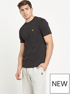 lyle-scott-classic-short-sleevenbspt-shirt-black
