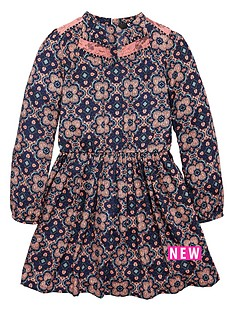 v-by-very-girls-lace-panel-fluted-sleeve-bohonbspdress