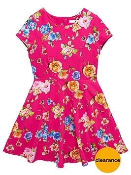 v-by-very-girls-floral-skater-dress