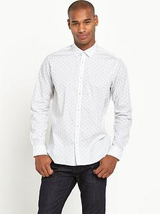 ted-baker-dot-print-long-sleevenbspshirt