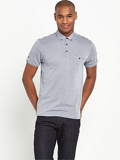 ted-baker-ted-baker-ss-woven-collar-oxford-polo