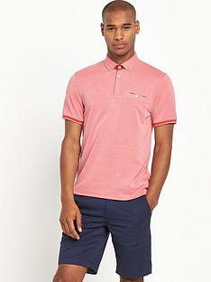 ted-baker-ted-baker-ss-flatknit-collar-oxford-polo