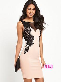 lipsy-lipsy-floral-applique-detail-dress