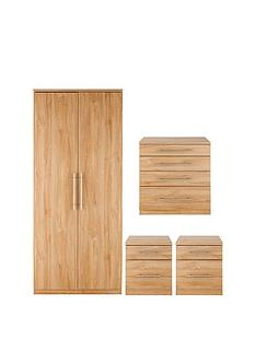 prague-4-piece-package-2-door-wardrobe-4-drawer-chest-and-2-bedside-cabinets