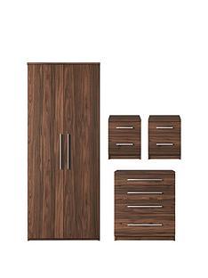 Remarkable Walnut Bedroom Furniture Sets Home Garden Very Co Uk Complete Home Design Collection Epsylindsey Bellcom