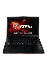 GP72 2QD Leopard Intel Core i5, 8Gb RAM, 1Tb HDD Storage, 17.3 inch Laptop with nVidia Geforce 940M Graphics - Black