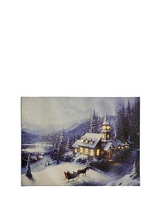 winter-evening-fibre-optic-canvas-ndash-40-x-30-cm