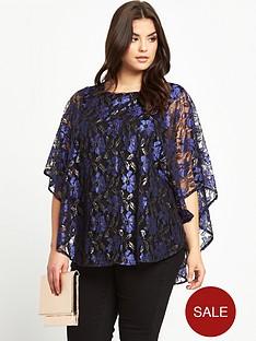so-fabulous-plus-size-metallic-lace-overlay-jersey-top-14-28