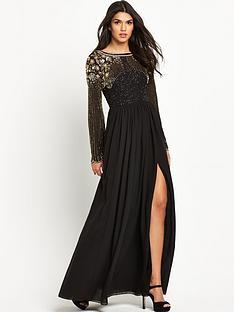 virgos-lounge-long-sleeve-embellished-maxi-dress